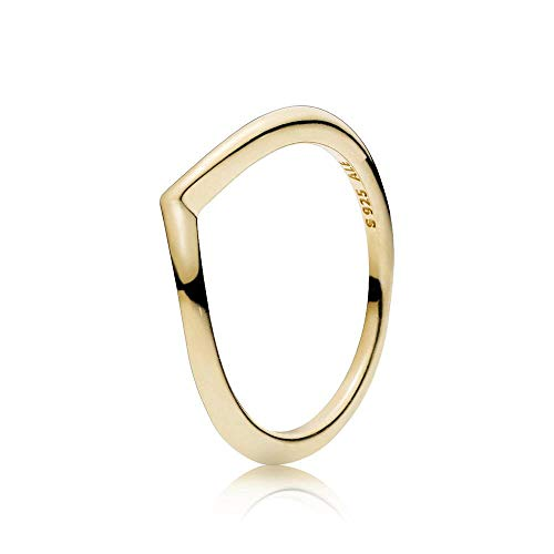 PANDORA Damen-Ringe Vergoldet mit '- Ringgröße 54 166314-54
