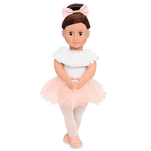 Our Generation BD31108 Doll w/Feathery Ballet Skirt, Valencia