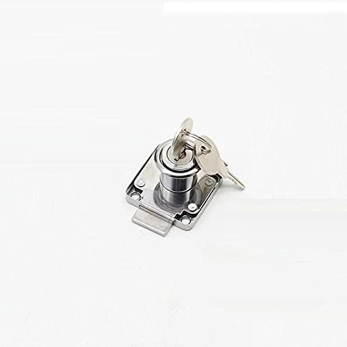 Cilindro de la cerradura Cajadura de bloqueo de gabinete de bloqueo de bloqueo de bloqueo de la puerta de la puerta de la puerta de bloqueo de la puerta con 2 llaves-Llave de 22mm-hierro