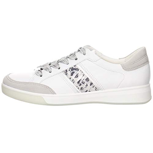 ara Damen ROM 1234471 Sneaker, (Sasso/Weiss, Silber/Nebbia 06), 43 EU(9 UK)