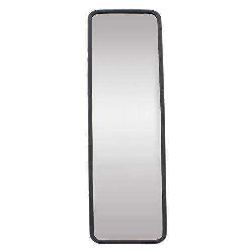 SUMEX 1 Espejo Interior Paronamico Convexo de 25cm, con Fijacion Elastica, Negro, 250 x 65mm