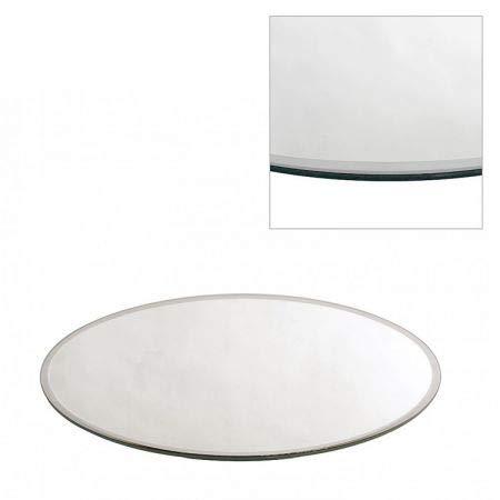 Homedelight ROUND MIRROR PLATE/TABLE CENTREPIECE, 30 CM/12'