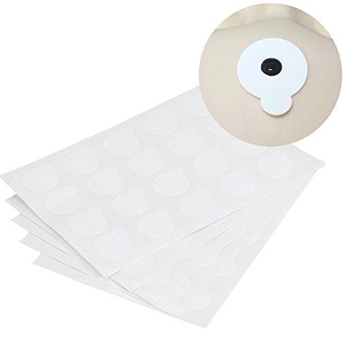 5Pcs Cils Colle Stickers, Jetables Tampons de Colle pour Cils Feuilles Silicone Coussinets de Cils Cils Lifting Pads pour Cils Perms Yeux Patchs Joint étanche Cils Pad
