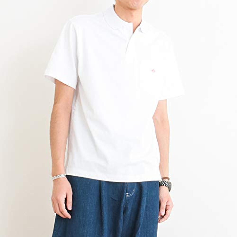 [ダントン] ポケット付き ポロシャツ COTTON POCKET POLO SHIRT JD-9126 メンズ 半袖
