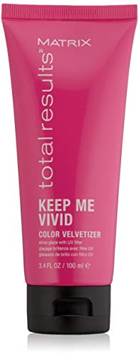 MATRIX Total Results Keep Me Vivid Color Velvetizer Leave-In Styling Balm | Color Protecting Treatment | For Color Treated Hair | 3.4 Fl. Oz.