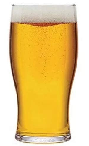 Rekean - Vaso de cerveza Pinte sin pie apilable, 6 unidades, modelo...