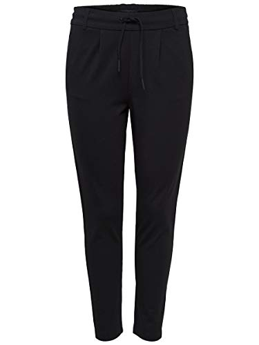 ONLY Damen Onlpoptrash Easy Colour Pant Pnt Noos Hose, Schwarz (Black), L/L34