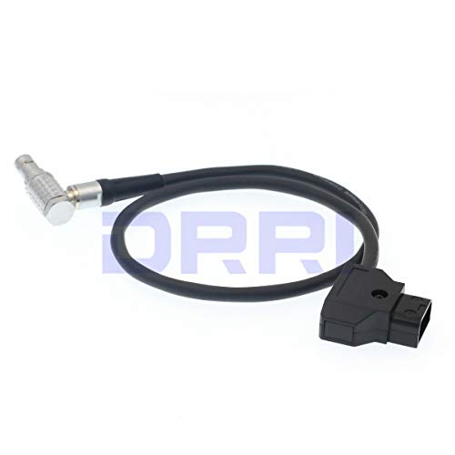 Right Angle Cable DRRI Transvideo 5 Pin to Dtap Power Cable for Starlite HD5 ARRI Monitor Only