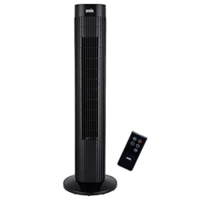ANSIO Tower Fan -Black and Grey White and Black and white Set