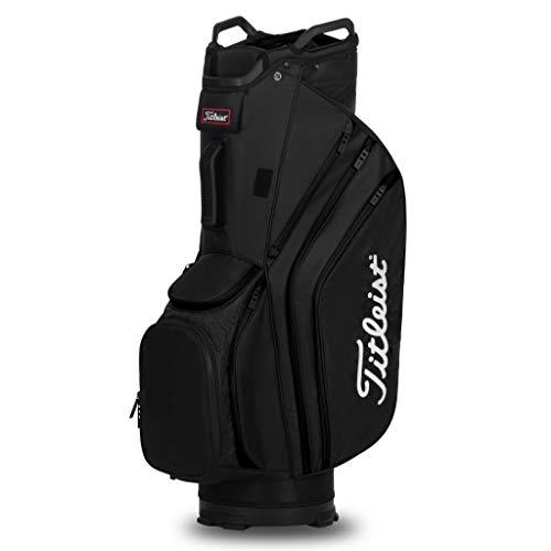 Titleist Cart 14 Lightweight Golf Bag, Black