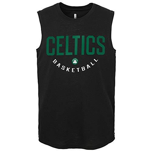 Outerstuff NBA Boys Youth (8-20) First String Muscle Tank Top, Boston Celtics Medium (10-12)
