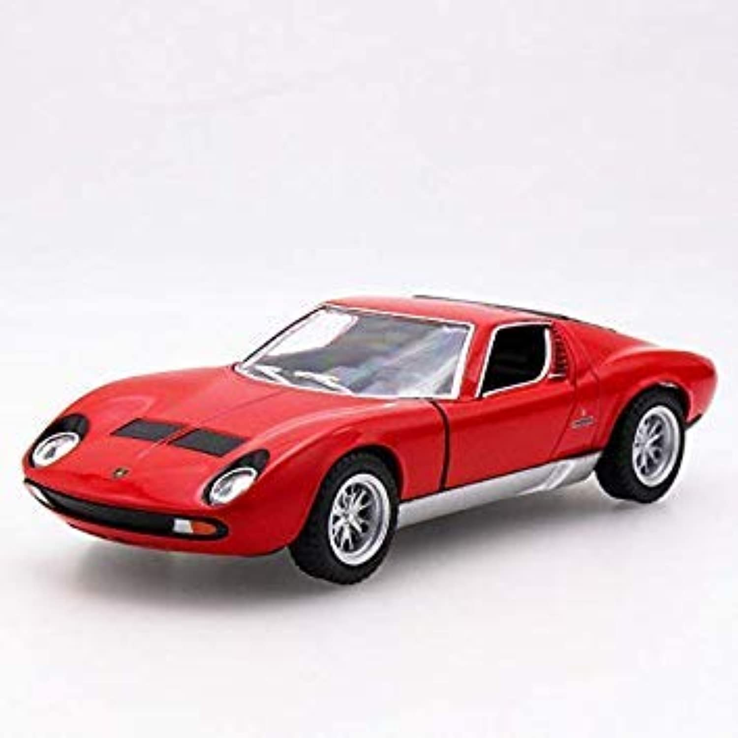 Hot Sell 1 32 P400 Diecast Alloy Metal Racing Car Mini Model Collection Model Pull Back Toys Wheel Car Gift for Boy Red