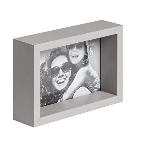 BD ART 20 x 25 cm Box Marco de Fotos, Gris Claro