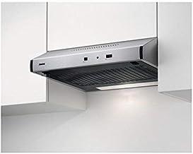 Zanussi ZHT631X / Abluft oder Umluft / 60cm / Edelstahl / max. 75 m³/h / min. 56 – max. 73 dBA