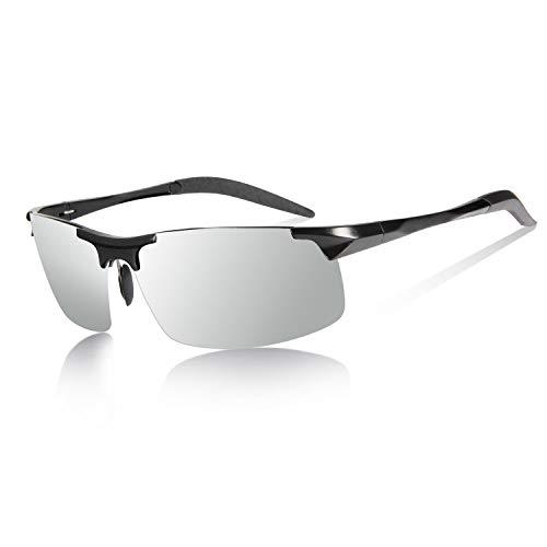 YIMI Z87 Gafas de sol polarizadas fotocromáticas para conducción, para hombres y mujeres, día y noche