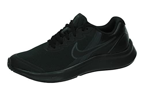 Nike Star Runner 3, Zapatillas de Gimnasio, Black/Black-dk Smoke Grey, 39 EU