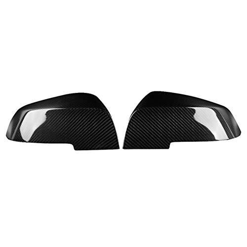 NKDbax Cubierta de espejo retrovisor lateral de coche de fibra de carbono, para BMW- 1 2 3 4 Series F20 F30