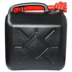Lennox 2er Set 10 Liter Kanister Benzinkanister Dieselkanister mit Trichter Kunststoff
