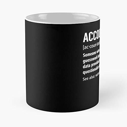 Diccionario de significado humorístico, divertido humor, la mejor taza de café de cerámica blanca de 11 onzas