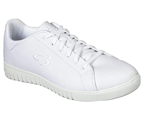 Concept 3 by Skechers Men's Lammon Casual Sneaker, White, 12.5 Medium US