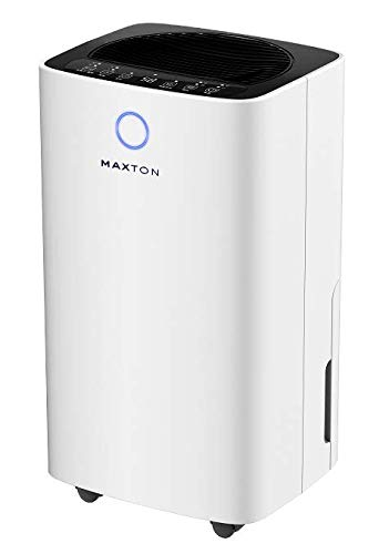 Maxton MX-12 Home Dehumidifier for Rooms and Basements. Removes up to 20 pints / 24 h. 220v