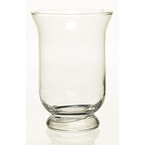 Kelk vaas glas 19,5 cm Transparant