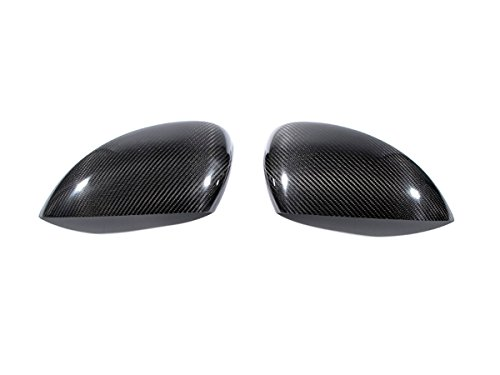 100% Carbon Side Mirror Cover Carbon Fiber Add On Type for Porsche Macan