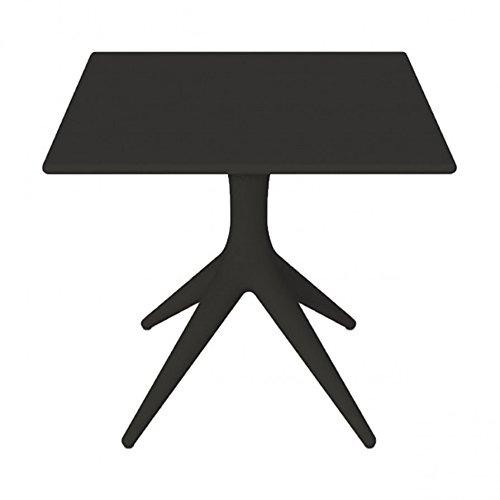 Driade APP Table 80 x 80 cm, H 73 cm – Noir