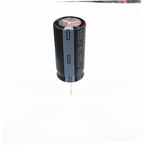 El Plomo Condensador Electrolítico De Aluminio Kit 50v 3300uf Radial Condensadores Electrolíticos De Bricolaje Electrónica Herramientas De Reparación De Hardware Herramienta 5pcs Fácil De Usar