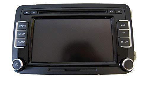VW Radio RCD 510, Volkswagen 3C8 035 195 G, mit MP3 Wechsler + SD Slot + DAB Tuner