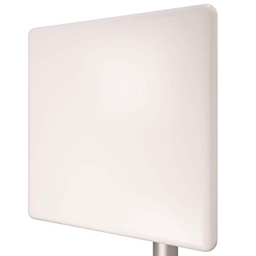 Tupavco TP511 WiFi Panel Antenna 2.4GHz (20dBi) Outdoor Directional (2400-2483 MHz) Wireless Network Signal (Pole Mast Mount) Weatherproof High-Gain Long Distance Range (N-Female Connector)