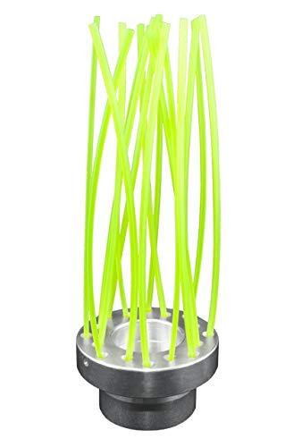 16 hilos – Cabezal cepillo universal de aluminio multihilo para desbrozadora
