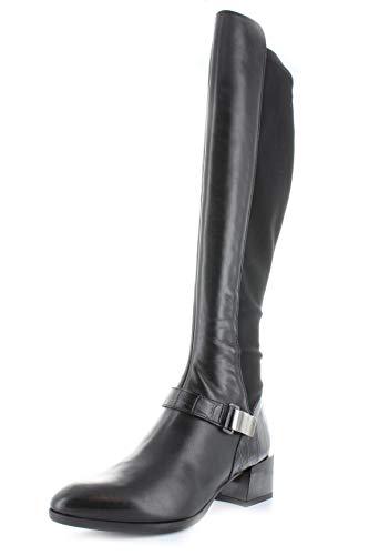Hispanitas dames laarzen spits HI99259 Nadja blokhak stretch inzetstuk zwart