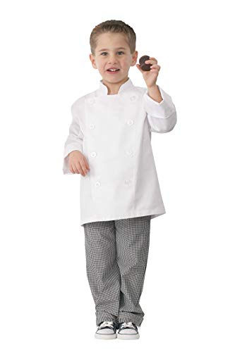 Chef Works Kid's Chef Coat, White, Small