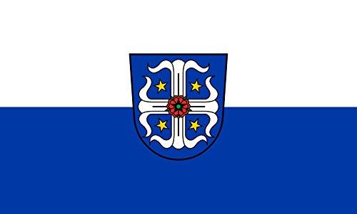 Unbekannt magFlags Tisch-Fahne/Tisch-Flagge: Plankstadt 15x25cm inkl. Tisch-Ständer