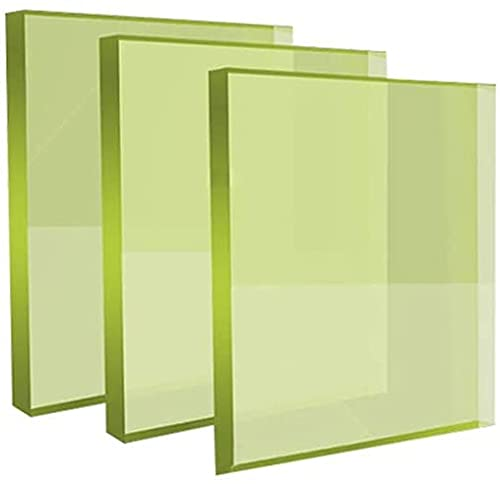 CYZW Radiation Safety X Ray Protection Lead Glass Sheet Plate { Size:200 X 300 X 20MM }