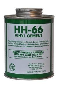 HH-66 PVC Vinyl Cement with Brush 16 Ounce by HH-66 PVC Vinyl Cement