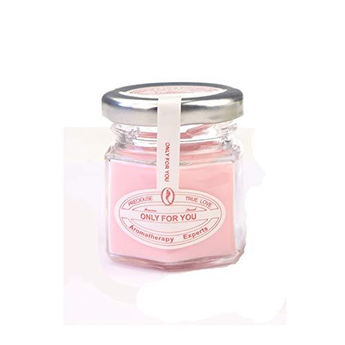 eaz Juego de velas aromáticas Aromeasy 1 pieza de 28 g/60 g de cristal de miel, fragancia de plantas y cera mineral, sin humo, para decoración del hogar, boda, baño y trabajo corporal (color: 60 g)
