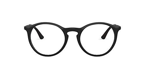 Ray-Ban Herren 0rx 7132 2000 50 Brillengestell, Schwarz (Shiny Black)