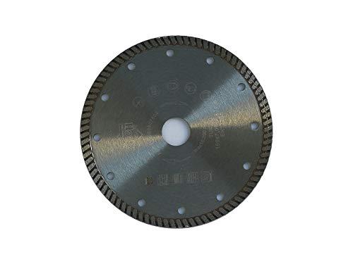 jw-germany Turbo Diamant zaagblad slijpschijf 150 x 22,23 mm boring voor haakse slijper, industriële kwaliteit volgens DIN EN 13236