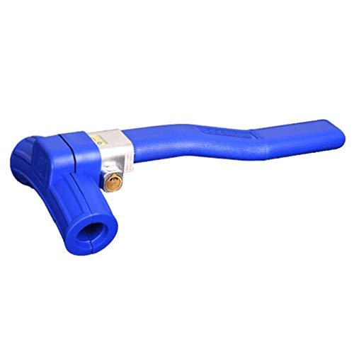 Serrure de volant de voiture robuste et universelle anti-vol Dispositif antivol de voiture de sécurité rétractable (Color : Blue)