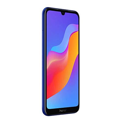 Honor 8A Smartphone débloqué 4G (6,1 pouces, 32 Go, 'Double Nano SIM', Android 9.0) Bleu
