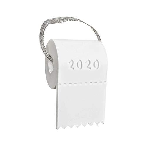 Weihnachten 2020, DIY Weihnachtsanhänger 2020 Frohe Weihnachten Weißer Weihnachtsbaum Dekoration Stereo DIY Roll Papier Anhänger