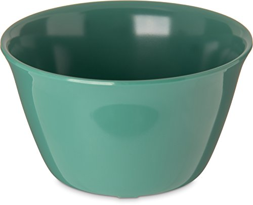 Carlisle 4354009 Dallas Ware Melamine Bouillon Cup Bowl, 8 oz, Green (Pack of 24)