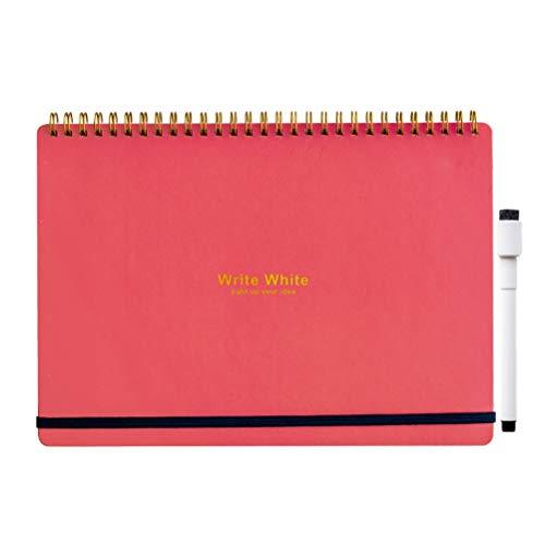 学研ステイフル ホワイトボード ノート Write White B5 レッド BD12011