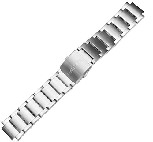 Nautica N16655G - Reloj de pulsera de repuesto para hombre NST 700 Chrono de acero inoxidable