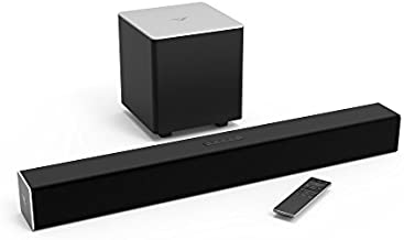 """VIZIO Sound Bar for TV, 28"""" 2.1 Surround Sound System for TV with Wireless Subwoofer and Bluetooth, Channel Home Theater Sound Bar – Remote SB2821-D6"""