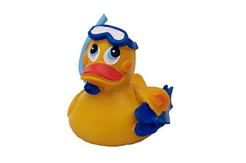 Lanco 831 - Patito submarinista para baño 100% látex natural, orgánico y ecológico