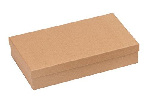 GLOREX kartonnen doos, karton, natuur, 21,2 x 12 x 4,5 cm