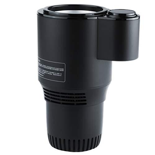 JCJ-Shop Smart Cooling Cup 2-in-1 Auto Büro Cup Wärmer Kühler Smart Car Cup Becherhalter Becher Kühler Getränke Getränke Dosen